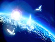 Doves over Earth